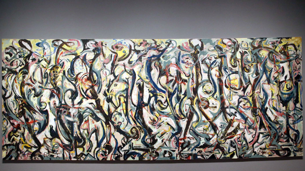 Critics picks critics 39 picks march 28 april 3 2014 for Mural 1943 by jackson pollock