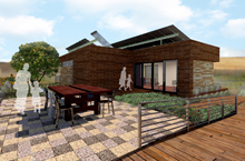 Team Capitol DC designs solar house as haven for wounded veterans
