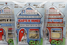 Gluten-free dog cookies from Rosie's Barkery