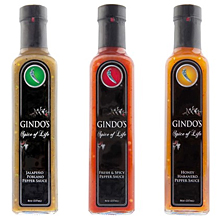 Gindo's Spice of Life hot sauce