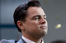 "Leonardo DiCaprio, ""The Wolf of Wall Street"""