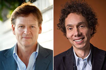 Michael Lewis in conversation with Malcolm Gladwell