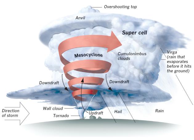 Multiple Vortex Tornado Diagram | Gallery