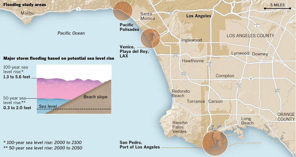 How rising seas could affect L.A.