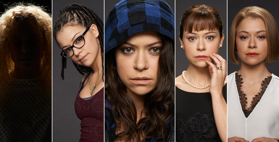 Meet the 'Orphan Black' clones face to face