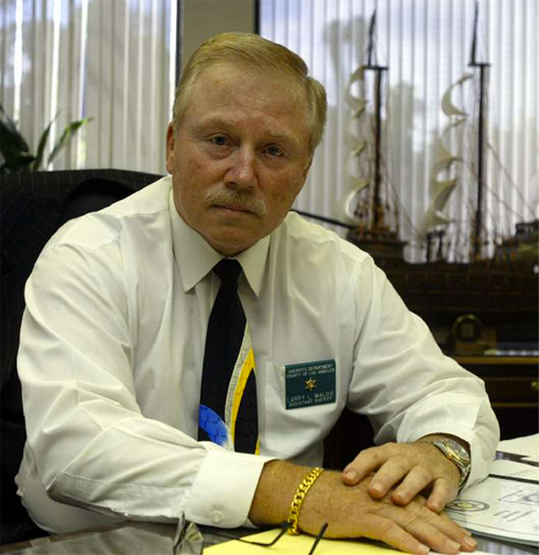 Former Los Angeles County Undersheriff Larry Waldie, pictured in 2004. (Los Angeles Times)
