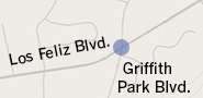 Griffith Park Blvd. and Los Feliz Blvd.